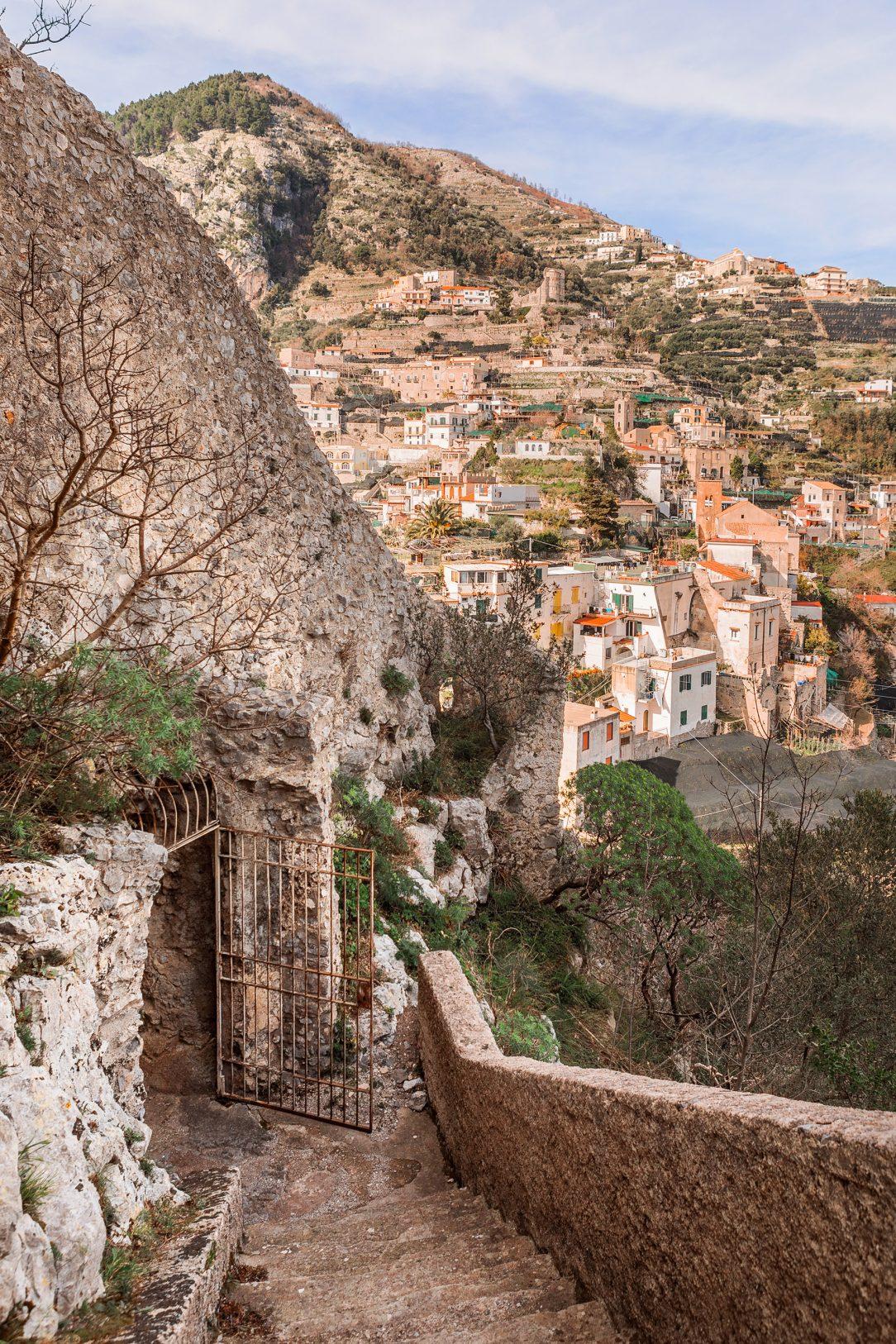 Amalfi Coast village