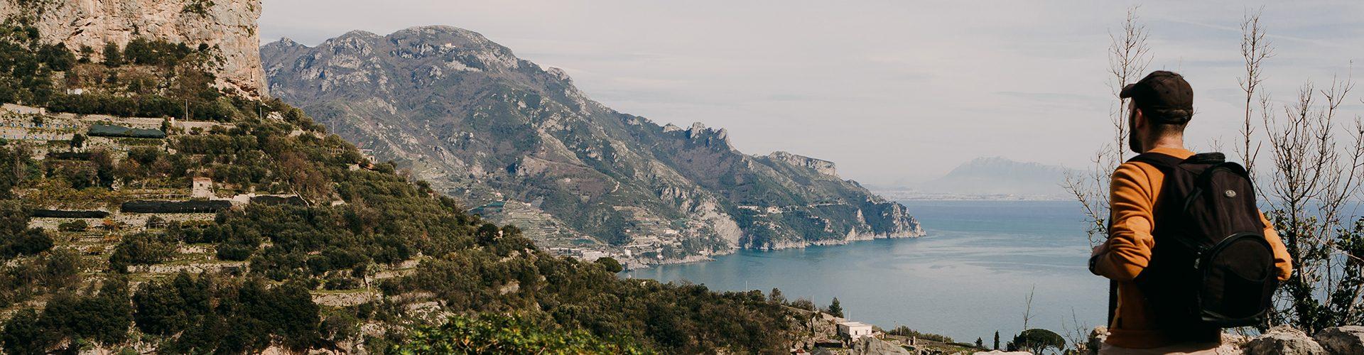 Walking through Amalfi Coast